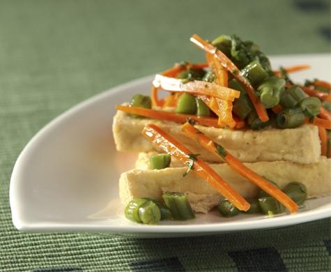 Palitos crocantes de tofu